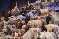 village de noel miniature - Recherche Google