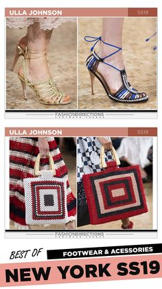 #nyfw #2018 #ss19 #bestof #womens #footwear #shoes #handbags #trends #fashion #accessories #fashiondirections #ullajohnson Nyfw 2018, Footwear Shoes, Ulla Johnson, Diane Von Furstenberg, Designer Shoes, Tory Burch, Fashion Accessories, Handbags, Trends