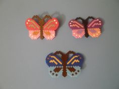 Mariposas hama beads by María Márquez Angulo