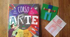 Uno splendido libro per insegnare ai bimbi tecniche e spunti per fare arte. E i nostri frottage con i Lego.