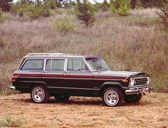 1978 Jeep Wagoneer --  Awww,  I miss my Wagoneer!  I would really like to get another one!