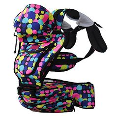 Dofull New Multicolor Dot Baby Seat Carrier 4 Season 448months Backpack -- See this great product.(This is an Amazon affiliate link)