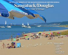 Oval Beach, Saugatuck, Michigan, One of the Best Beaches and Shorelines in the World