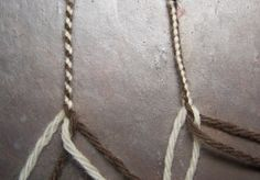 Instructions for a 4-strand Round Braid