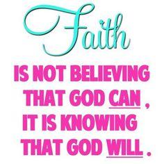 God will!