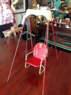 Vintage 1940's Amsco Doll Swing.