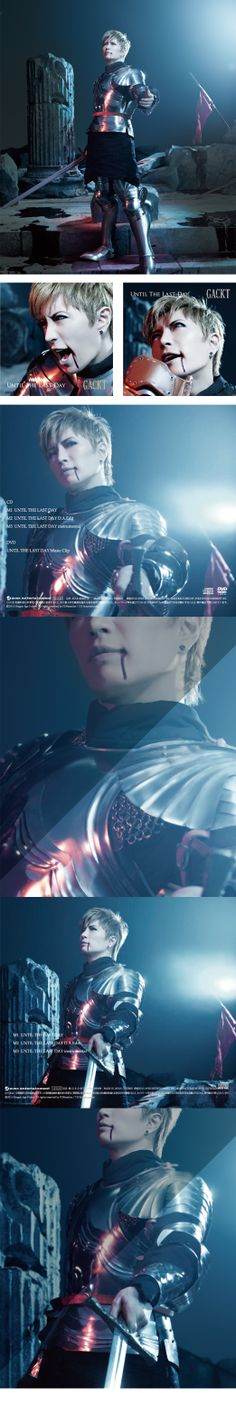 GACKT / Until the Last Day   ~photo by CANNO http://cannosan.wix.com/canno#!about/c240r