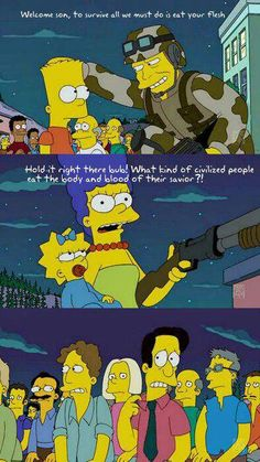 Awesome and funny photos and gifs from The Simpsons. Funny quotes and scenes from The Simpsons episodes over the years. Simpsons Funny, Simpsons Quotes, The Simpsons, Simpsons Episodes, Futurama, Funny Pins, Funny Memes, Funny Stuff, Funny Cute