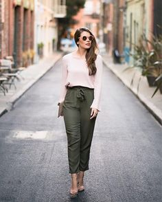 Pleats, tie-waist detail and bell cuffs, take a tip on Sunday's best dressing via @attn.to.detail   Shop her look with www.LIKEtoKNOW.it   http://liketk.it/2oPMl #liketkit