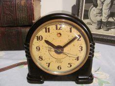 Bakelite Telechron Alarm Clock