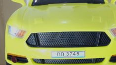 SIAMTOYS - รถเด็ก รุ่น 3745 ทรง มัสแตง (สีเหลือง) - Line id : @siamtoys ...