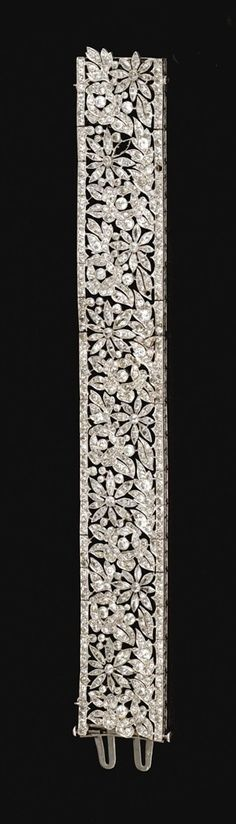 French diamond bracelet. Circa 1915