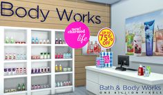 Bath & Body Works Shop and Set - FIXED - One Billion Pixels