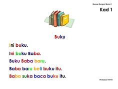 Learning Centers, Kids Learning, Malay Language, Numbers Preschool, Reading Worksheets, Kids Story Books, Cvc Words, Kindergarten Reading, All Quotes