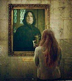 Lily Luna and Severus Snape