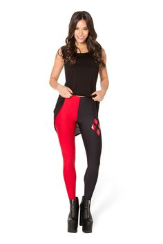 Harley Quinn Leggings › Black Milk Clothing-DEFINITELY getting these-Harley is BACK BABY!!!!