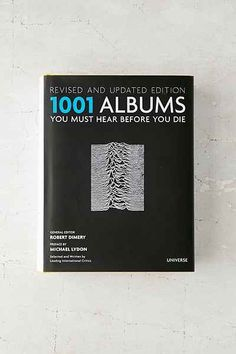 1001 Albums You Must Hear Before You Die: Revised And Updated Edition By Robert Dimery - Urban Outfitters