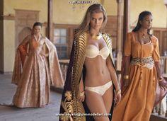 Nina Agdal for YENI INCI 2013 SS http://www.bayanicgiyimmodelleri.com/yeni-inci-2013-yaz-ic-giyim-koleksiyonu.html