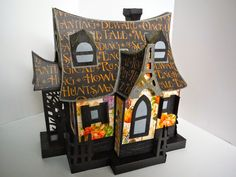 SVG Cuts Bewitched Cabin file - haunted house