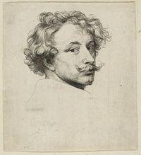 Sir Anthony Van Dyck, Self-Portrait Anthony Van Dyck, Sir Anthony, Moustaches, Bayeux Tapestry, National Gallery, Baroque Art, Fine Art Prints, Canvas Prints, Poster Size Prints