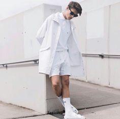 all white | homme | @sunnadoggg