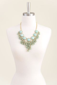 Mint Every Word Necklace