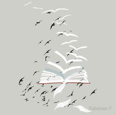bird flying out book - Google Search