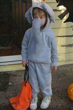 elephant dress up diy - Google Search & Easy Elephant Costume | Elephant costumes and Felting