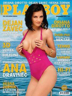 Ana Dravinec - Pl@yboy Slovenia
