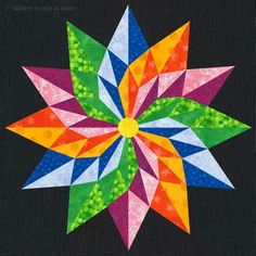 The Good Luck Star Quilt Block Pattern @  Quilts – Digital Quilt Patterns by Independent Designers