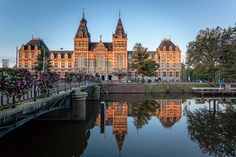 The Rijksmuseum (State Museum) opened in 1800, and houses master works of art and sculpture, such as work by Vermeer, van Dyck and Rembrandt. #rijksmuseum #amsterdam #holland #travel #museum #rembrandt #netherlands #wanderlust #parkinn