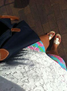 Jacks. Lilly. Lace. Longchamp.