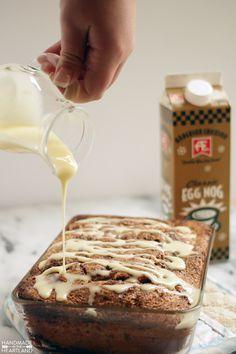 Egg Nog Cinnamon Bread with AE Dairy