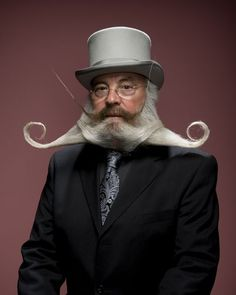 Extreme and bizarre beards and mustaches Beards And Mustaches, Moustaches, Crazy Beard, Epic Beard, Beard Love, Great Beards, Awesome Beards, Like A Sir, Hans Peter