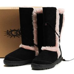 ↔❤↔→ UGG Nightfall Boots 5359 Pink ,❤❤❤…… Prepared For this Christmas Holiday`. Ugg Boots Sale, Ugg Boots Cheap, Uggs For Cheap, Boots For Sale, Classic Ugg Boots, Casual Boots, Sheepskin Ugg Boots, Ugg Boots Australia, Ugg Slippers