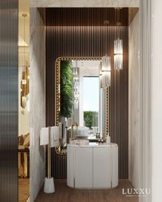 Do you think it's time to transform your bathroom design? Then click to read our article! #luxuryhomes #homedesign #bathroomdecor #homedecor #luxurydesign #luxuryfurniture #contemporarydesign #bathroomideas #luxurybathroom Luxury Home Decor, Luxury Interior Design, Bathroom Interior Design, Bathroom Designs, Bathroom Ideas, Gold Bathroom, Bathroom Trends, Luxury Apartments, Luxury Homes