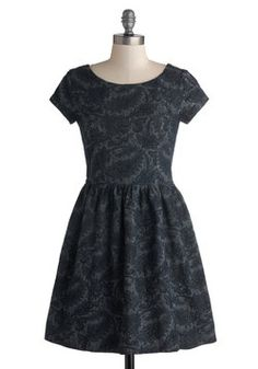 Just Stunning Dress in Navy, #modcloth
