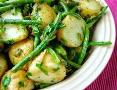 Cantinho Vegetariano: Salada Quente de Batatas e Vagens Assadas (vegana)...