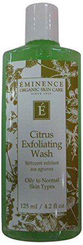 Eminence Citrus Exfoliating Wash, 4.2 Ounce  Check It Out Now     $38.00    Eminence organics citrus exfoliating wash(4 ounce./125 ml)benefits gently exfoliates and cleanses your skin all in ju ..  http://www.handmadeaccessories.top/2017/03/22/eminence-citrus-exfoliating-wash-4-2-ounce-2/