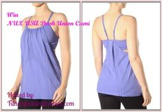 WIN IT! $46 VALUE! NUX Cami Giveaway at Style, Decor  & More! http://stylendecordeals.blogspot.com/2013/03/win-awesome-nux-usa-cami.html