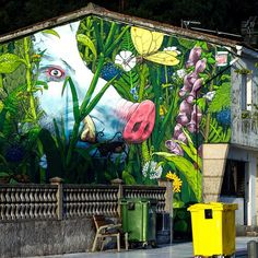 "@montana_colors's photo: ""#LIQEN ""Perdido en el monte"" / ""Lost in the Mountains""  More pics: http://www.arte-en-la-calle.com"""