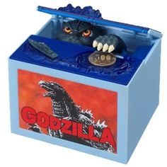 Godzilla Itazura Motion and Sound Coin Bank