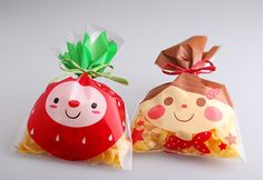 Smile plastic bag 50 set