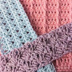 100% håndlavet | 100% kærlighed Free Crochet, Knit Crochet, Knitting Patterns, Crochet Patterns, Crochet Accessories, Merino Wool Blanket, Country Style, Color Patterns, Pot Holders