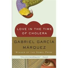 Love In The Time Of Cholera by Gabriel Garcia Marquez. I intended to read this book which was recommended to me more than 20 years ago. A couple of years ago I did finally read it cover to cover and I love it! It was a difficult read for me for the first 50 pages or so but I stayed with it and didn't want the story to end. I saw the movie but the book was so much better!