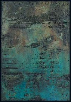 Tanya Bonello, Homage series, no 94, 600x415mm, gypsum and oil on board, 2003