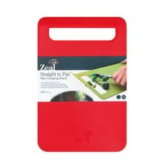 this one New Home Zeal Kitchen Plastic Non Slip Straight To Pan Large Food Chopping Board: Amazon.co.uk: Kitchen & Home