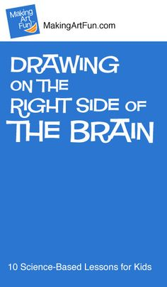 Drawing on the Right Side of the Brain | 10 Science-Based Contour Drawing Lessons for Kids - MakingArtFun.com - Awesome! (Scheduled via TrafficWonker.com)