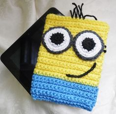 """Adorable Cover Pouch for 7"""" Tablet"""