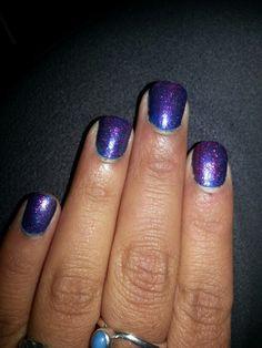 Blue base and pink glitter coat. Pink Glitter, My Nails, Nail Art, Base, Coat, Beauty, Sewing Coat, Nail Arts, Peacoats